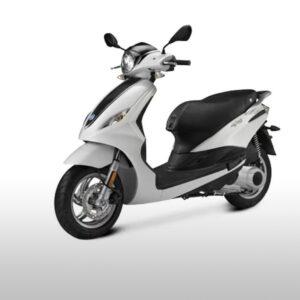 noleggio scooter zante piaggio fly 100cc