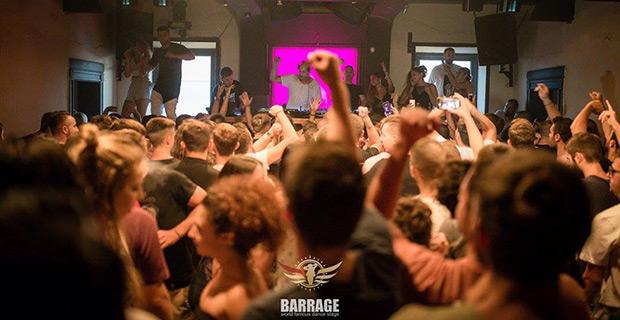 Barrage nightclub Zakynthos